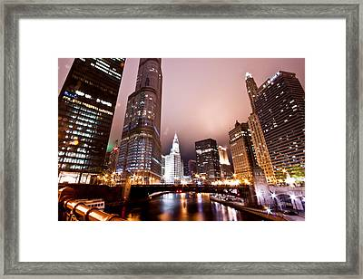 Of Liquid And Steel Framed Print by Daniel Chen