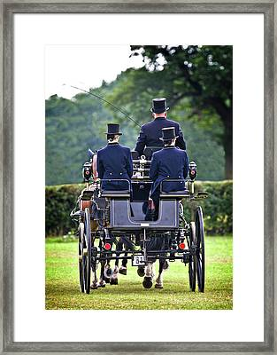 Of More Gentile Times Framed Print by Meirion Matthias