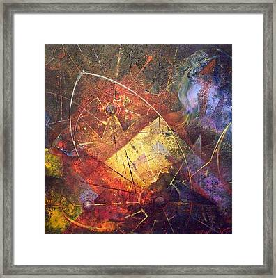 Of Our Own Making Framed Print by Fred Wellner
