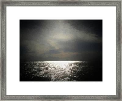 Of Places Far Away Framed Print by Ernie Echols
