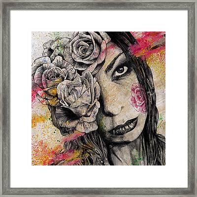 Of Suffering Framed Print