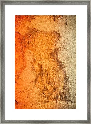 Framed Print featuring the photograph Of Sunsets And Stone 1 by Christi Kraft