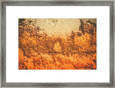 Framed Print featuring the photograph Of Sunsets And Stone 3 by Christi Kraft