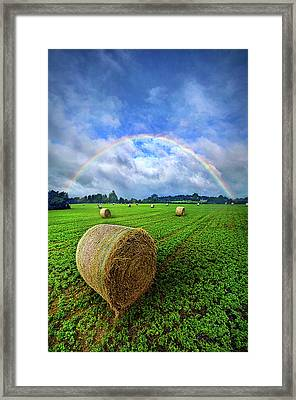 Of The Light So Pure And True Framed Print
