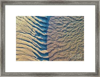 Of Wind And Waves Framed Print