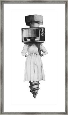 Off Air Framed Print by Phil Spaulding