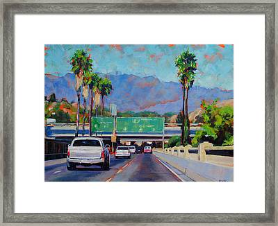 Off At Fig Framed Print by Richard  Willson