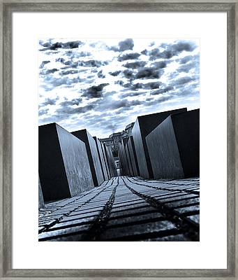 Off Balance Framed Print by Dean Farrell