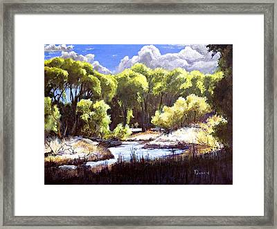Off Peavine Trail Framed Print