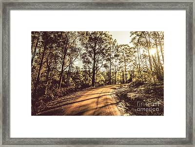 Off Road Trails Framed Print by Jorgo Photography - Wall Art Gallery
