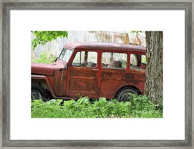 Off Road Vehicle Framed Print