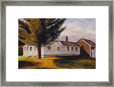 Off Route 131 Framed Print by Tyler Ryder