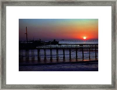 Off Santa Barbara Framed Print by Mike Flynn