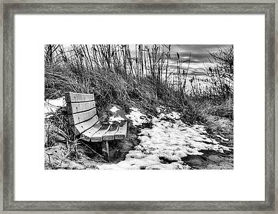 Off Season Framed Print
