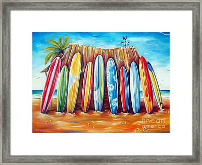 Off-shore Framed Print