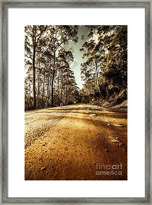 Off The Beaten Track Framed Print by Jorgo Photography - Wall Art Gallery
