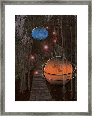 Off The Beaton Path Framed Print by Andrea Lawrence