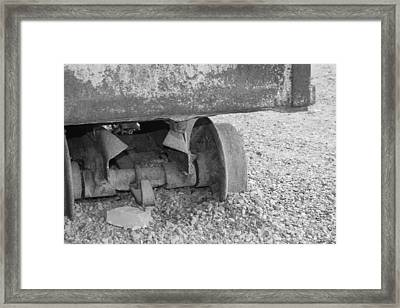 Off The Track Framed Print by Doug Johnson