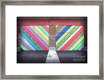 Off The Wall - Double Framed Print