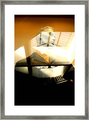 Off Through The Roof Framed Print by Jez C Self