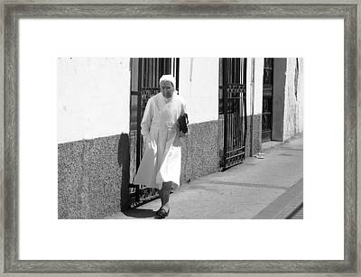 Off To Church 2 Framed Print by Jez C Self