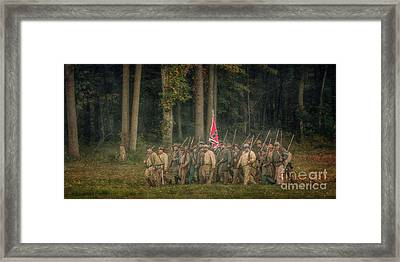 Off To Culp's Hill Framed Print