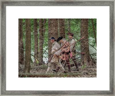 Off To Join Lochry Framed Print
