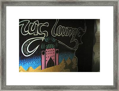 Off To The Lounge Framed Print by Jez C Self