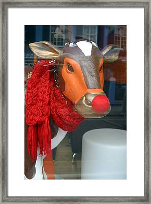 Off To The Moovies Framed Print by Jez C Self