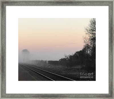 Off To Work Framed Print