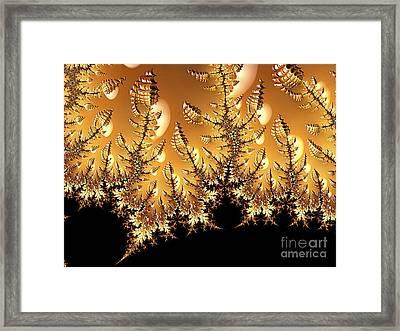 Off-world Garden Framed Print