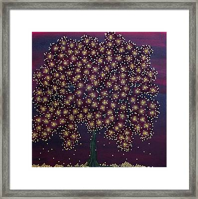Offering Golden Gifts Framed Print