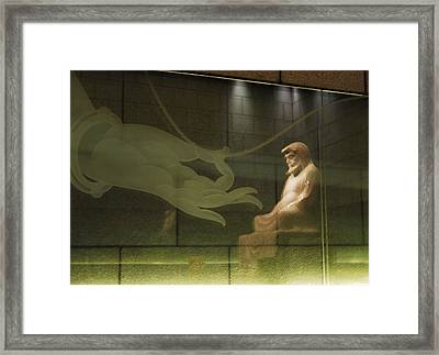 Offering To The Buddha Framed Print by Kurt Shaffer