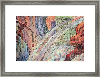 Offering To The Gods Framed Print by Hawaiian Legacy Archive - Printscapes