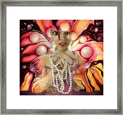 Offerings ... Of A Soul Explosion Framed Print