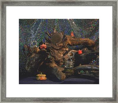 Framed Print featuring the photograph Offerings by Carolyn Cable