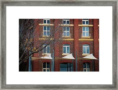 Office Block Framed Print by Tim Nichols