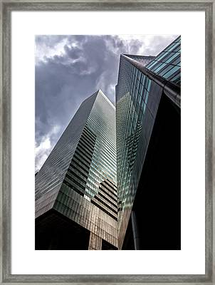 Office Buildings Citicorp Center Framed Print by Robert Ullmann
