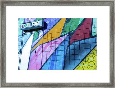 Framed Print featuring the photograph Office by Lora Lee Chapman
