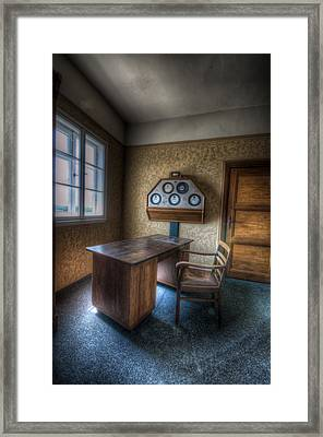 Office Power Framed Print by Nathan Wright