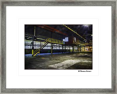Framed Print featuring the photograph Office by R Thomas Berner