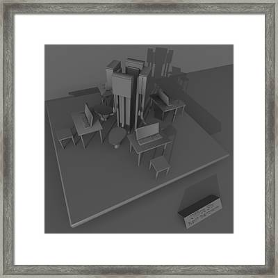 Office Six Framed Print by Rolf Bertram