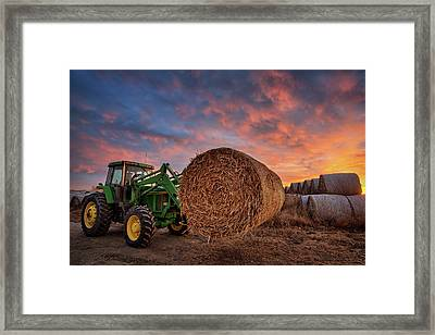 Office Space Framed Print by Thomas Zimmerman