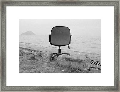 Office With A View Framed Print by Dean Harte