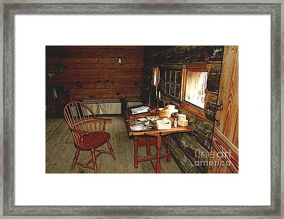 Officers Quarters Fort Stanwix Framed Print by Diane E Berry