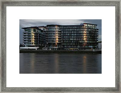 Offices In London Framed Print by Adam Sworszt