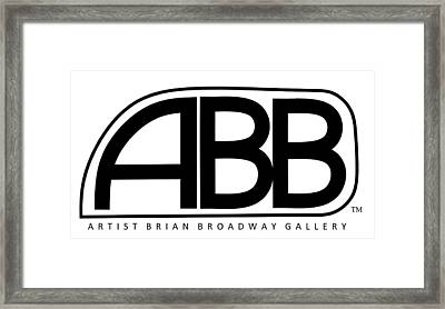 Official Abb Gallery Logo Framed Print by Brian Broadway