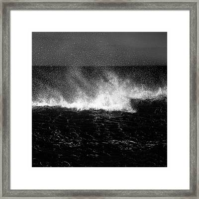 Offshore Framed Print by Dave Bowman