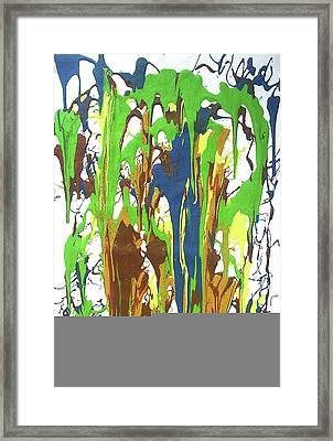 9-offspring While I Was On The Path To Perfection 9 Framed Print