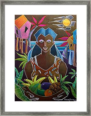 Ofrendas De Mi Tierra II Framed Print